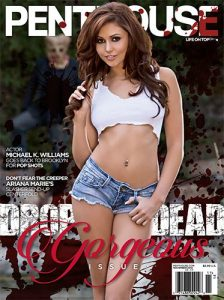 Penthouse November 2014 cover