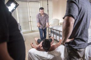 Hernando Chavez directing VR Porn Lindsey Byrnes for Rolling Stone