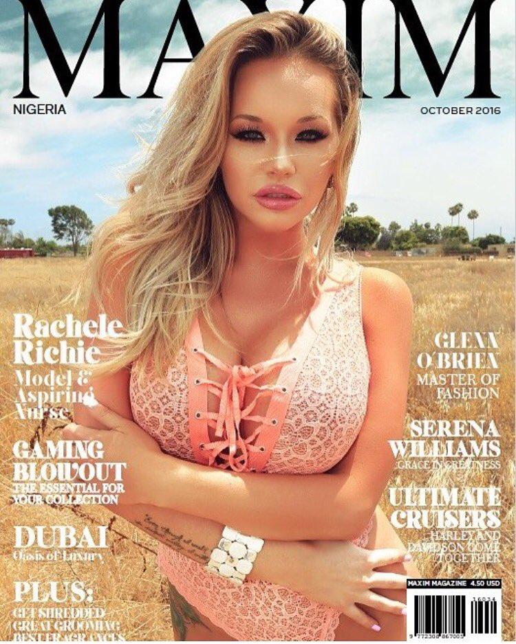 Maxim Magazine Nigeria October 2016