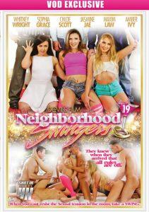 Whitney Wright and Chloe Scott land the cover of Neighborhood Swingers 19