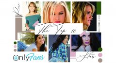Who are the top 10 porn stars on @OnlyFans?