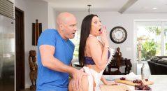 Rachel Starr @rachelstarrxxx Gets Freaky in the Kitchen in New Brazzers Scene